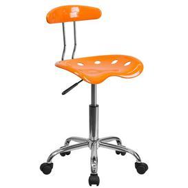 image-Gaitan Ergonomic Task Chair Zipcode Design Colour: Orange