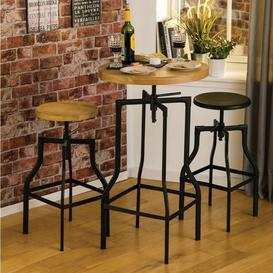 image-New Foundry Industrial Furniture Ash Bar Table