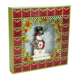image-MacKenzie-Childs - Snowman Advent Calendar
