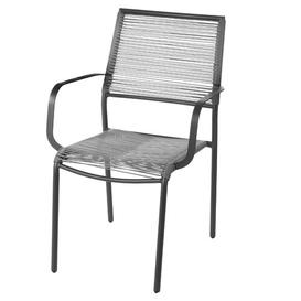 image-Schulz Stacking Garden Chair Sol 72 Outdoor Colour: Grey