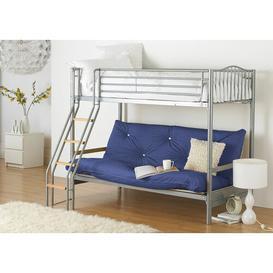 image-Halkyn 15cm Cotton Futon Mattress Symple Stuff Size: Small Single (2'6), Colour: Royal Blue