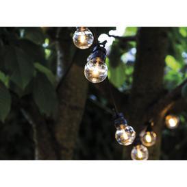 image-Sirius Lucas Solar Outdoor String Lights Clear Starter Set