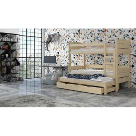 image-Caspar Bunk Bed with Trundle Isabelle & Max Colour (Bed Frame): Pine