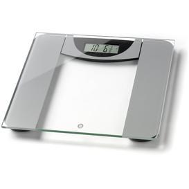image-WW Ultra Slim Glass Precision Bathroom Scale - Silver