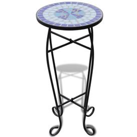 image-Bistro Table Sol 72 Outdoor Colour: Blue and white