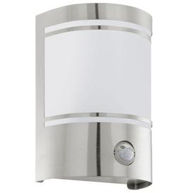 image-30192 Cerno Outdoor Stainless Steel Sensor Flush Wall Light