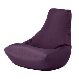 image-Water Resistant Gaming High Back Bean Bag Lounger Ebern Designs Upholstery Colour: Purple
