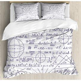 image-Leawood 350 TC Duvet Cover Set Ebern Designs Size: Double - 2 Standard Pillowcases