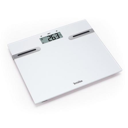 image-Terraillon White Body Fat Analyser Scales White