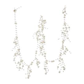 image-A by AMARA Christmas - Pearl Garland - White
