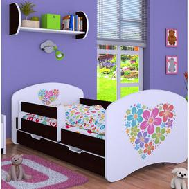 image-Mantorville Cot Bed / Toddler (70 x 140cm) Bed Frame with Drawer Isabelle & Max Colour (Bed Frame): Black