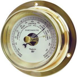 image-Brass Portsmouth Barometer Nauticalia