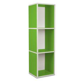 image-Narrow Bookcase Symple Stuff Colour: Green