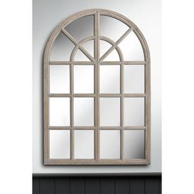 image-Large Arched Window Mirror