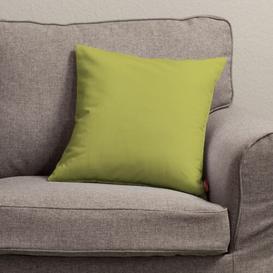 image-Kinga Loneta Cushion Cover Dekoria Colour: Olive, Size: 50 x 50cm