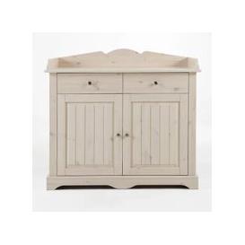 image-Lotta Kids Wooden Storage Changing Unit In White Wash