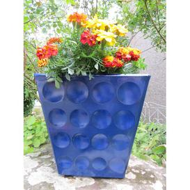 image-Rudy Fibreglass Planter Box Freeport Park Colour: Diamond Blue