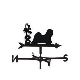 image-Weathervane in Lhaso Apso Design - Medium (Cottage)