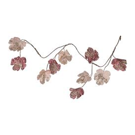 image-A by AMARA Christmas - Artificial Sequin Leaf Garland