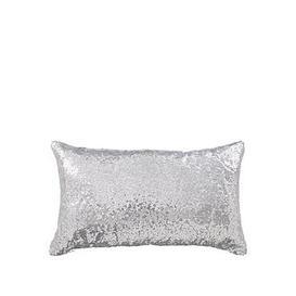 image-Sequin Boudoir Cushion - 50X30