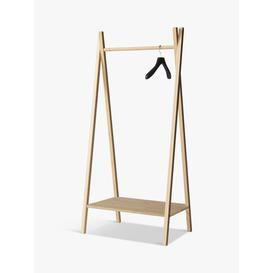 image-House by John Lewis Bamboo Clothes Rail with Shelf