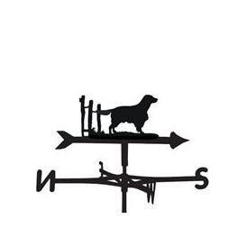 image-Weathervane in Welsh Springer Spaniel Dog Design - Medium (Cottage)