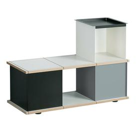 image-Chon Wood and Metal Storage Bench Brayden Studio