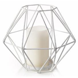 image-Geometric Metal Lantern The Party Aisle