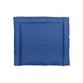 image-White Dots Changing Mat KraftKids Colour: Dark blue, Size: 70cm H x 60cm W x 4cm D