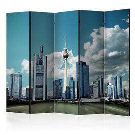 image-Macauley Room Divider Ebern Designs Number of Panels: 5