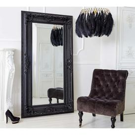 image-Double-Framed Black French Mirror - Luxury Mirror