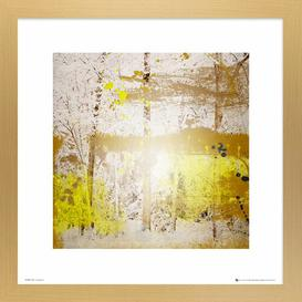 image-'Christmas Abstract' Framed Graphic Art Print Natur Pur Size: 30cm H x 30cm W, Format: White Framed