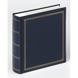 image-Photo Album Marlow Home Co. Colour: Blue, Size: 22cm H x 21cm W x 5cm D