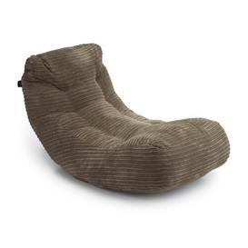 image-'Oliver' Super Soft Jumbo Cord Bean Bag Lounger Ebern Designs Upholstery Colour: Mocha