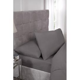 image-Heusden Envelope V-Shaped Pillowcase Symple Stuff Colour: Grey