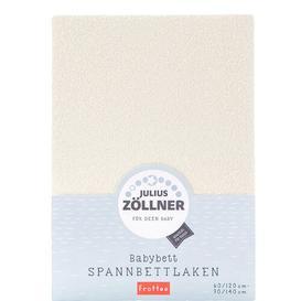 image-Fitted Cot Sheet Julius Z├╢llner Colour: Cream
