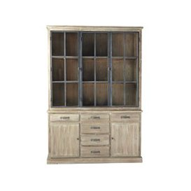 image-Recycled Pine Display Cabinet Copenhague kitchen
