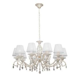 image-Kayden 10-Light Shaded Chandelier Lily Manor