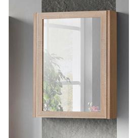 image-Piano 50 cm x 66 cm Surface Mount Mirror Cabinet Belfry Bathroom