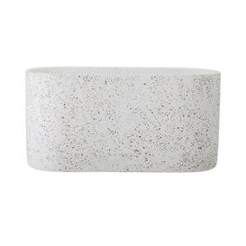 image-Concrete Planter Box Bloomingville Size: 15 cm H x 30 cm W x 12 cm D