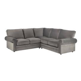 image-Jazlyn Sleeper Corner Sofa Bed Willa Arlo Interiors Upholstery Colour: Grey