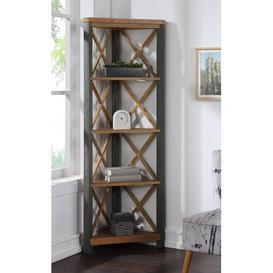 image-Calton Corner Bookcase Williston Forge