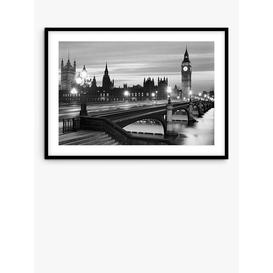 image-Getty Images Gallery - London Houses Of Parliament Wood Framed Print & Mount, 106 x 148cm