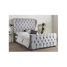 image-Wedge Fabric Bedframe