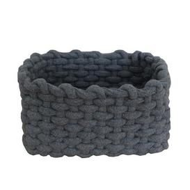 image-Rope Storage Basket Grey