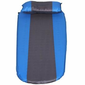 image-Pomona 1cm Air Bed Symple Stuff Colour: Blue/Grey