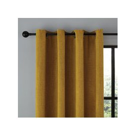 image-Wynter Old Gold Thermal Eyelet Curtains Old Gold