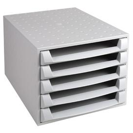 image-Mcgee Desk Organiser Symple Stuff Colour: Light Grey
