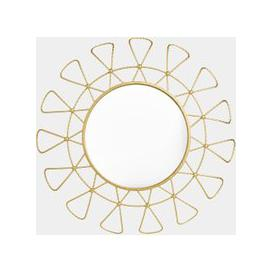 image-Gold Sunburst Mirror
