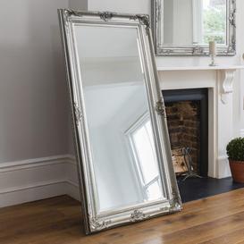 image-Gallery Direct Harrow Leaner Mirror Silver